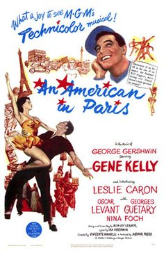 An American in Paris.  Always great for inspiration's sake.