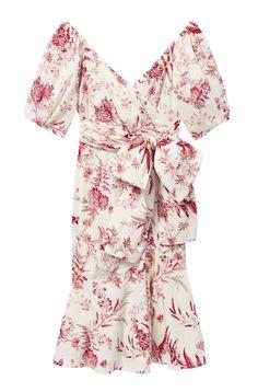 Vintage-inspired garden florals enhance the nostalgic silhouette of the La Vie Averie Garden Dress. Garden Dress, Dress Images, Rebecca Taylor, Special Events, Hemline, Vintage Inspired, Floral Tops, Cold Shoulder Dress, Dressing
