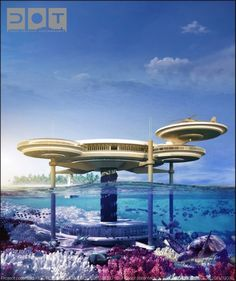 What?? Amazing!  An underwater hotel.  I really do think Dubai is a sci fi reality.