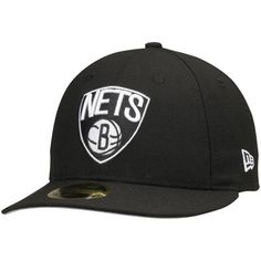 32edf7522 Brooklyn Nets New Era Official Team Color Low Profile 59FIFTY Fitted Hat -  Black Brooklyn Nets