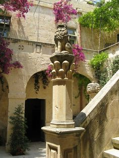Mdina, Malta. We stayed in an amazing old townhome in Rabat, just outside of Mdina, for our honeymoon.