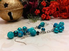 Excited to share the latest addition to my #etsy shop: Earrings Sky Blue and Turquoise Pierced Handmade One of a Kind Boho Modern E#184 http://etsy.me/2BTKUIc #jewelry #earrings #blue #boho #earwire #stainlesssteel #no #women etsy.com/shop/BalquesBeadedJewe