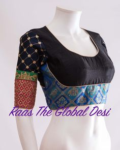 We don't sell any products. If you like this post pl save it and tag your friends . DM for credits or removal of this post. Simple Blouse Designs, Saree Blouse Neck Designs, Stylish Blouse Design, Choli Designs, Saree Blouse Patterns, Designer Blouse Patterns, Designer Saree Blouses, Blouse Online, Sarees
