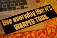I wish every day could be Warped Tour! Music Is Life, My Music, Warped Tour, Of Mice And Men, A Day To Remember, Pierce The Veil, Band Merch, It Goes On, Day Of My Life
