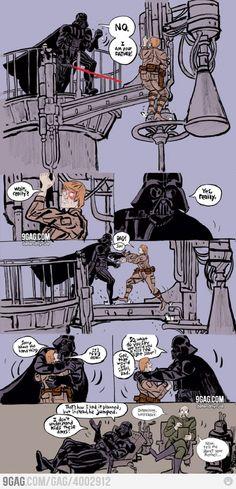 Misunderstood Darth Vader.