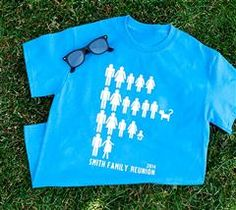 DIY Family Reunion Tshirts