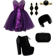 Formal/Prom Formal Prom, Polyvore, Image, Black, Dresses, Fashion, Vestidos, Moda, Black People