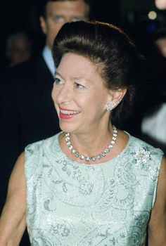 Princess Margaret At The Adelphi Theatre London For A Performance Of 'night Of 100 Stars' It Is In Aid Of Sunshine Homes And Schools For Blind...