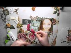 Scrapbooking Page TUTORIAL 'Sunshine of Life'