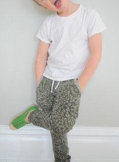 Cheesy Mini Hudson Pants | Elsie Marley
