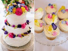 Hochzeitsfotograf Pfalz Haftelhof - Hochzeitstorte - Sommerblumen - Theresa Povilonis Photography