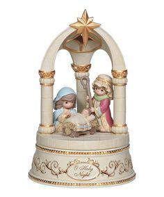 Look what I found on #zulily! Nativity Scene Musical Figurine #zulilyfinds