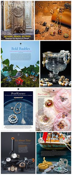 Jewelry editorial for Cottages and Gardens Magazines.
