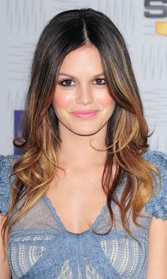 Rachel Bilson Became Our Number One Hair Crush With A Dip-Dye Hairstyle At The Spike TV Video Game Awards, 2010