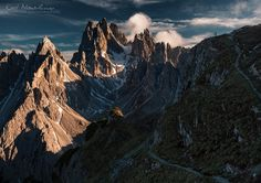 Cadini di Misurina  fot.Karol Nienartowicz - Mountain Photographer