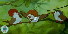 Mesedalok: Vili a veréb | Napi Mesék Childhood Movies, My Childhood, My Father's World, Disney Movies, Illustrators, Little Girls, Nostalgia, Lettering, Nests