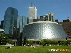 Toronto Roy Thomson Hall Canada, by Arthur Erickson