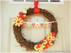 Interchangeable Wreath - {The Ribbon Retreat Blog}