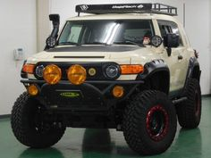 FJ×LINE-X塗装 Toyota FJcruiser TRAIL TEAMS SPECIAL EDITION