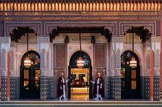 An inside look at the legendary hotel La Mamounia in Marrakech, Morocco. La Mamounia, Mamounia Marrakech, Marrakesh, Marrakech Morocco, Hotels And Resorts, Best Hotels, Luxury Travel, Tahoe Hotels, Morocco