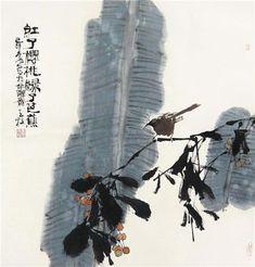 Qin Tianzhu - sumi e