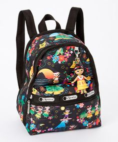 Look at this #zulilyfind! Polynesian Paradise Mini Basic Backpack by LeSportsac #zulilyfinds