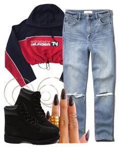 """""""10 9 15"""" by miizz-starburst ❤ liked on Polyvore featuring Abercrombie & Fitch, H&M, KEEP ME and Timberland"""