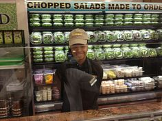 Fresh salad bar at Fairway Market Westbury - let us know what you like!