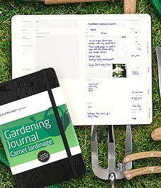 The benefits of keeping a garden journal