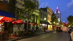 Image result for mobile alabama downtown flooded dauphin street