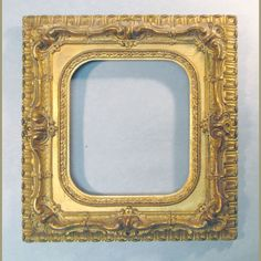 Small Ornate Gilt Picture Frame 1850's