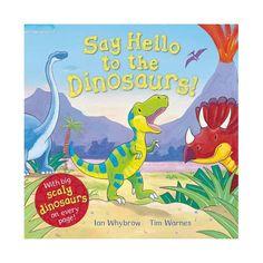 ¡Digamos hola a los dinosaurios! Disfruta de la naturaleza con este bebé T Rex y todos sus amigos dinosaurios.