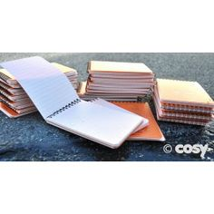 No excuses of work ruined in wet weather as these notebooks really do work in the rain. The water just wipes right off without smudging. Children will be amazed at how they work. Lined and gridded notebook. H 15cm x W 10cm. Set of 30. Over 90 pages per notebook.