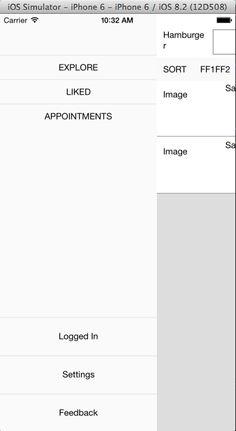 """Résultat de recherche d'images pour """"react native side menu"""""""