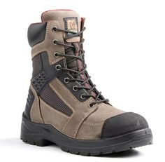 "8"" Rebel Steel Toe Boots"