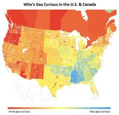 Who's Gay Curious in the U.S. & Canada