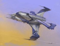 A few more ships by our super good friend Colie Wertz . Keywords: concept spaceship art digital painting using procreate ipad by lucasf...