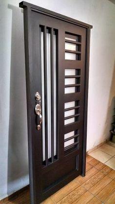 puerta principal de forja contemporánea súper oferta