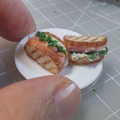 Bread♡ ♡ By miniaturefood baksang