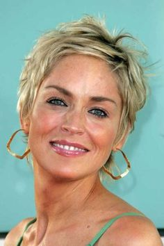 Sharon Stone Nice Pixie