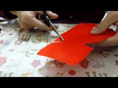 Chinese Arts And Crafts, Red Packet, Easy Diy, Simple Diy, Diy Crafts, Diy Ideas, Youtube, Easter, Halloween