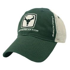 ac4f9fd825fcc Brunton John Goat Forrest Green Trucker Hat Law Enforcement Equipment