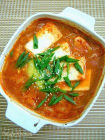 Peng's Kitchen: Kimchi Jigae 김치 찌개 (Kimchi Stew)