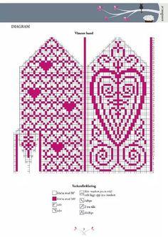 . Knit Socks, Knitting Socks, Crochet Chart, Diy Tutorial, Knitting Patterns, Crafts, Fingerless Gloves, Wrist Warmers, Gloves