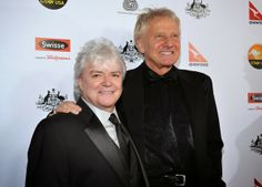 Russell Hitchcock and Graham Russell of the band Air Supply 2017 Graham Russell, Unforgettable Song, Air Supply, Logo Design, Graphic Design, Show, Ronaldo, Rock And Roll, Superstar