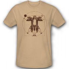 The Big Lebowski Dude da Vinci T-Shirt