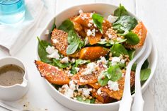 Photo of Pumpkin and Spinach Salad