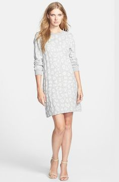Animal Print Terry Dress For Fall.