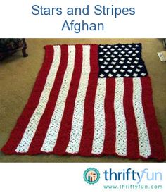 All American Crochet Afghan Pattern Free : 1000+ images about Crochet 4th of July on Pinterest ...