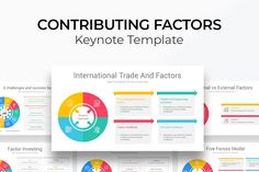 Contributing Factors Diagram Keynote Template is a modern template that you can download and use for any type of Contributing Factors presentations, The Template Contains 9 Unique slides designed by professionals that you can easily edit and fill Gift Card Presentation, Presentation Skills, Presentation Layout, Business Presentation, Presentation Templates, Slide Design, Keynote Template, Color Themes, Factors